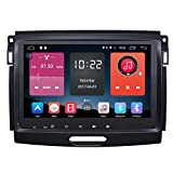 Autosion In Dash Android 6.0 Car DVD Player Sat Nav Radio Head Unit GPS Navigation Stereo for Ford Ranger Everest 2015 2016 2017 Support Bluetooth SD USB Radio OBD WIFI DVR 1080P