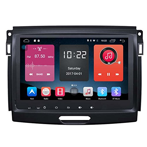 Autosion In Dash Android 6.0 Car DVD Player Sat Nav Radio Head Unit GPS Navigation Stereo for Ford Ranger Everest 2015 2016 2017 Support Bluetooth SD USB Radio OBD WIFI DVR 1080P by Autosion