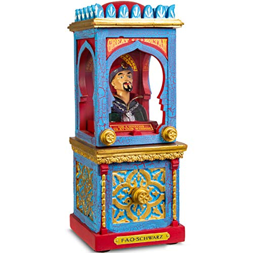 Fortune Teller Games (FAO Schwarz Zoltan The Fortune Teller Vintage Carnival-Style Fortune Telling Machine, Button-Activated Talking Fortunes with LED Light & Animation; Classic Retro Design in)