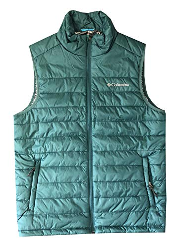Columbia Men's Crested Butte II Omni-Heat Puffer Vest Jacket (XL, -