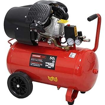 Compresor de Aire V 2 Cilindros 2,2KW 50L: Amazon.es: Bricolaje y ...