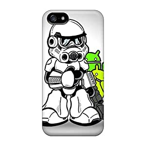 Cute High Quality Iphone 5/5s Stormtrooper Droids Case
