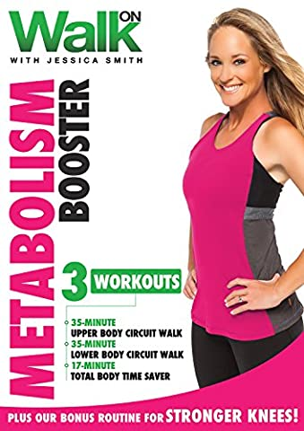 Walk On: Metabolism Booster with Jessica Smith, Walk at Home, Strength Training for Women, Beginner, Intermediate (At Home Workout Dvd)