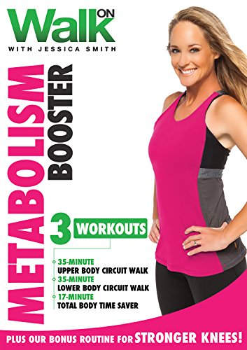 Walk On: Metabolism Booster with Jessica Smith, Walk at Home, Strength Training for Women, Beginner, Intermediate Level