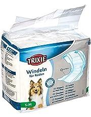 Trixie 4011905236414 Luiers Voor Reuen, Maat: S-M: 30-46 cm, 12 Stuks