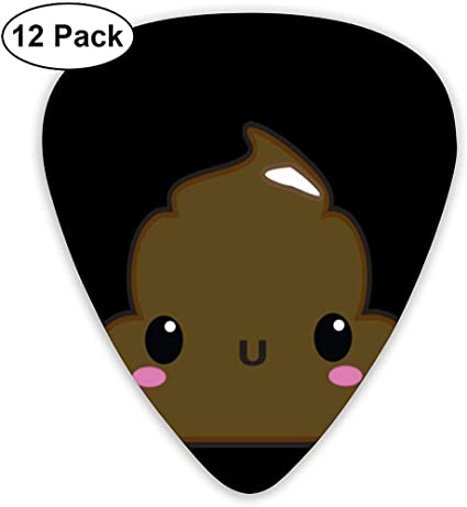 Dibujos animados Shy Poop Guitar Picks Plectrums Guitarra acústica ...