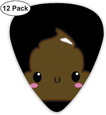 Dibujos animados Shy Poop Guitar Picks Plectrums Guitarra acústica ...