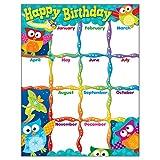 owl birthday chart for classroom - TREND enterprises, Inc. Happy Birthday Owl-Stars! Learning Chart, 17