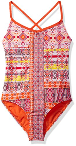 Roxy Girls' Big Girls' Moroccan Mirage One Piece