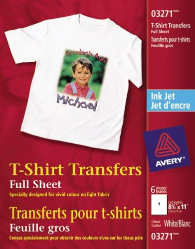 AVE3271 - Avery Iron-On-T-Shirt Transfers ()