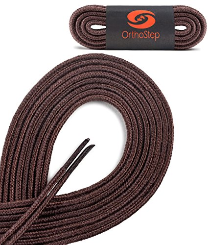 OrthoStep Round Athletic Nylon Shoelaces