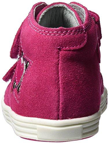 Richter Kinderschuhe Baby Mädchen Sing Lauflernschuhe Pink (Fuchsia/Pink)