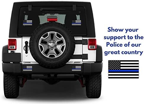 Roblox Rims Decal Amazon Com Thin Blue Line Blue Lives Matter Flag Sticker 3 X 5 4 Pack Free Shipping 5 7 Days Industrial Strength Vinyl Decal For Cars Trucks Suv S Boats