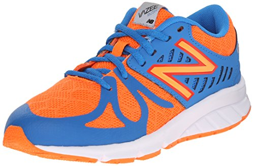 New Balance Nbkjrusobp, Zapatillas de Gimnasia Unisex Niños Arancione (Orange Blue)