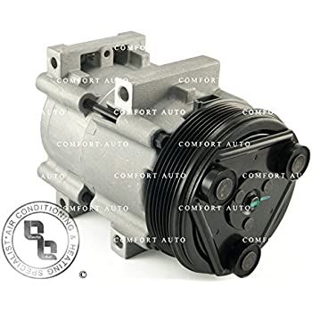 1996 1997 FORD F250 350 F53 Brand New AC Compressor With 1 Year Warranty