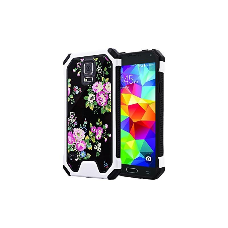 Galaxy S5 Case, SmartLegend Hybrid High