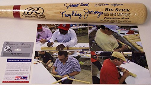 Joe Morgan Signed Baseball Bat - Big Red Machine - PSA/DNA Certified - Autographed MLB Bats
