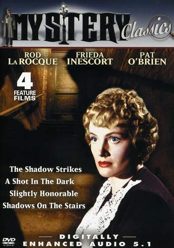 Mystery Classics (The Shadow Strikes/A Shot In The Dark/Slightly Honorable/Shadows on the Stairs) (Strike Rods)