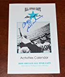 "DON SHULA Signed ""ALL-STAR CAFE"" 1995 Activities Calendar - MIAMI DOLPHINS - DS2 - NFL Autographed Miscellaneous Items"