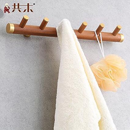 Soporte para barra de toalla de baño o cocina,organizar todo el estante con toallas