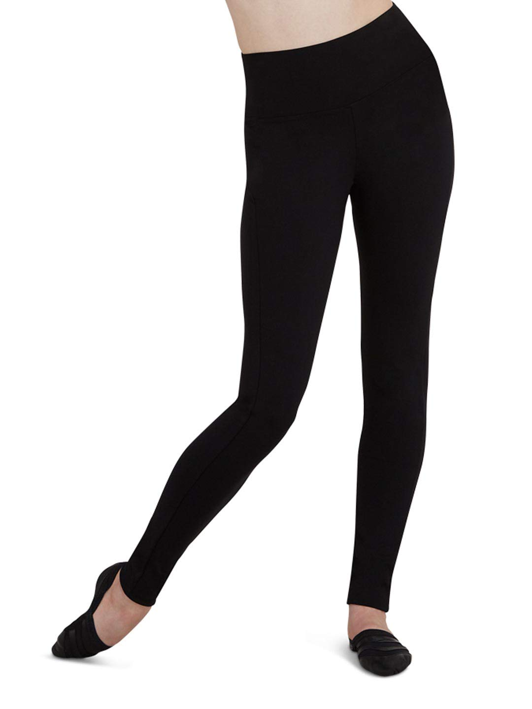 Capezio Dance Women's Active Legging - TB204W (Small, Black)