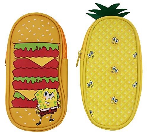 Nickelodeon's Spongebob Squarepants Pencil Pouch, 9.25