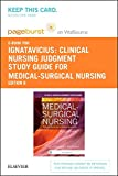 img - for Clinical Nursing Judgment Study Guide for Medical-Surgical Nursing - Elsevier Digital Book (Retail Access Card): Patient-Centered Collaborative Care, 8e book / textbook / text book