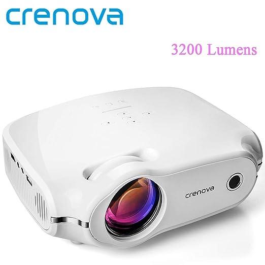Crenova® - Proyector de vídeo para Cine en casa (HD de 4 ...