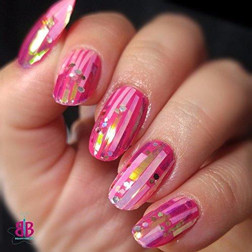 Ecbasket Acrylic Nail Tips Natural Fake Nails Short Oval: BTArtbox Fake Nails Short Oval Nails Round Nails Full
