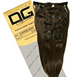 Dream Girl 18 inch Colour 4 Clip On Hair Extensions by Dooa Wholesalers Bild