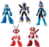 Bandai Shokugan 66 Action Dash Mega Man 2 Action Figure (Set of 5)