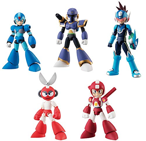 Bandai Shokugan 66 Action Dash Mega Man 2 Action Figure (Set of 5) ()