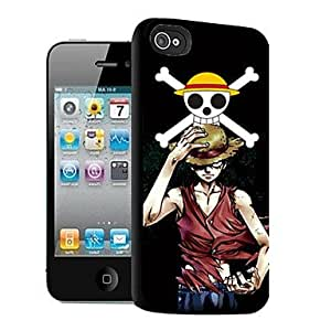 WQQ Luffy Pattern 3D Effect Case for iPhone5