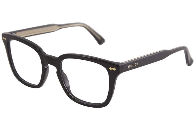 5e84a823 Gucci GG0184O Plastic Square Eyeglasses Size 50 mm