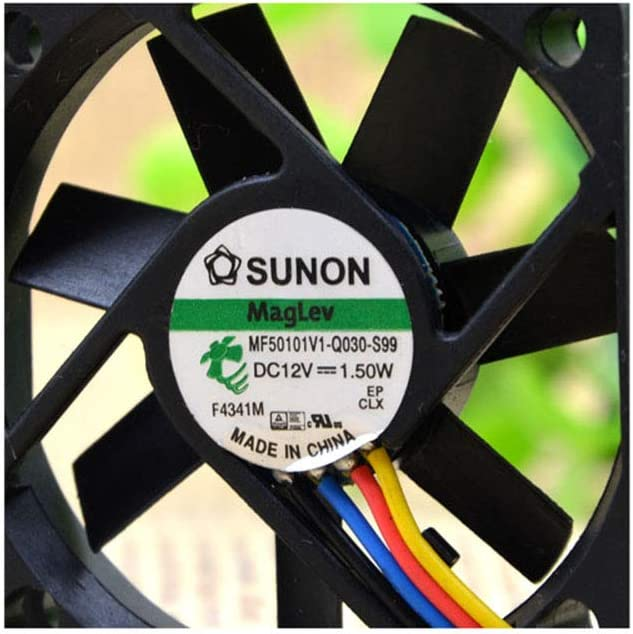 Cytom for New sunon MF50101V1-Q030-S99 5010 12V 1.50W 5 cm Four-Wire PWM Fan