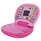 Toyshine Educational Learning Kids Laptop, LED Display, with Music, Assorted Color