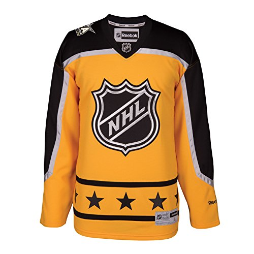 2017 NHL All-Star Atlantic Division Premier Replica YELLOW Hockey Jersey (Large)