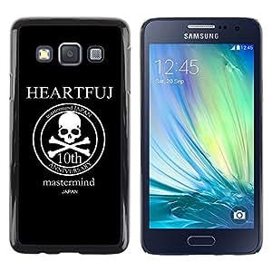 MOBMART Carcasa Funda Case Cover Armor Shell PARA Samsung Galaxy A3 - The Mastermind Anniversary