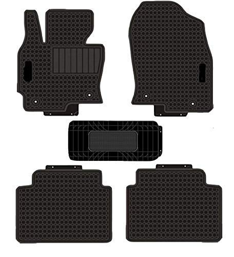 Kaungka Heavy Rubber Car Front Floor Mats Compatible with 2013 2014 2015 2016 Mazda CX-5 -All Weather and Season Protection Car Carpet