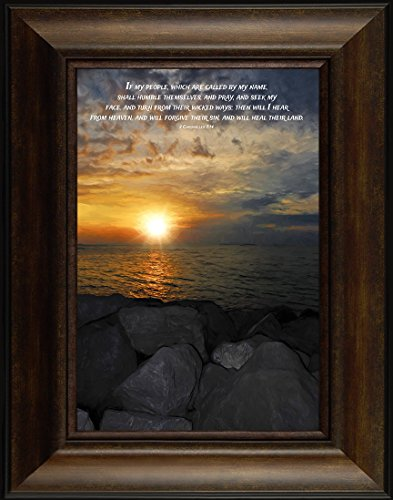 My People By Todd Thunstedt 26x20 2 Chronicles 7:14 Keys Islamorada Festival Kidd Anne Ann Bonny Ahoy Jimmy Buffet Jolly Roger Flag Bible Verse Quote Saying Jesus Framed Art Print Wall Décor Picture