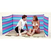 Sport Design Beach Wind Screen Including Umbrella Carry Bag