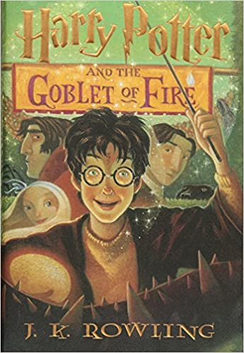 Image result for goblet of fire book
