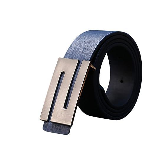 733bef23bfddf4 Celucke Gürtel Herren Klassischer Ledergürtel Für Anzug Jeans, Männer  Westerngürtel Jeansgürtel eleganter Herrengürtel mit Metallschnalle:  Amazon.de: ...
