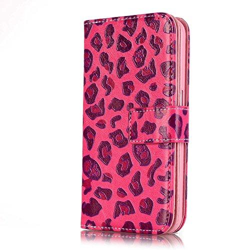 Sunroyal ® para Samsung Galaxy S6 G9200 G920F Funda Ultra Slim PU Cuero Flip Caso Leather Case Wallet Card Cubierta Caja Protectora Soporte [Billetera con Tapa para Tarjetas] Carcasa con Stand Función Color01