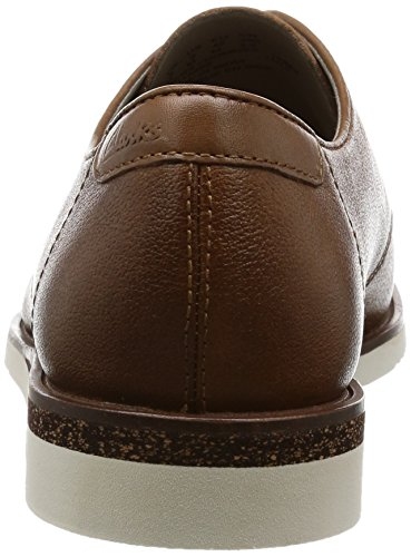 ClarksTulik Free - Derby Hombre Marrón (Cognac Leather)