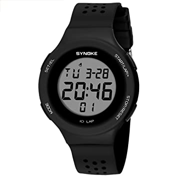 UxradG LED Reloj Deportivo Hombres LED Digital Militar Reloj 50M Impermeable Deporte Mujer Relojes de Moda