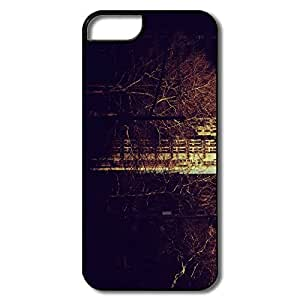 IPhone 5/5S Cases, City Autumn White/black Cases For IPhone 5/5S