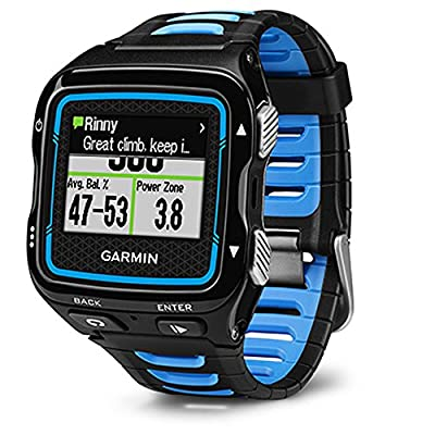 Garmin Forerunner 920XT Black/Blue Watch with HRM-Run