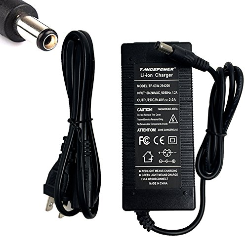 29.4V 2A Li ion Battery charger DC Port 25.2V 25.9V 24V 2A Charger for 7S Ebike charger