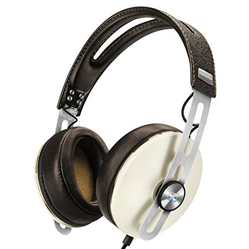 Sennheiser HD1 Headphones for Apple Devices - Ivory (Discontinued by Manufacturer) (Sennheiser Momentum 2-0 Wireless Over Ear Headphones Review)